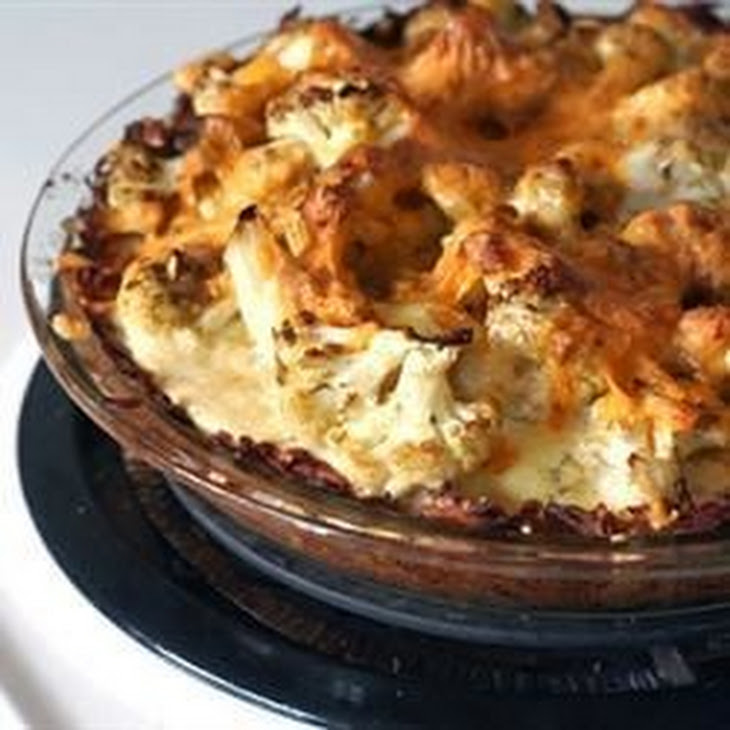 Cauliflower Cheese Pie
