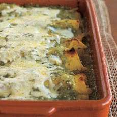 Green Chicken Enchiladas