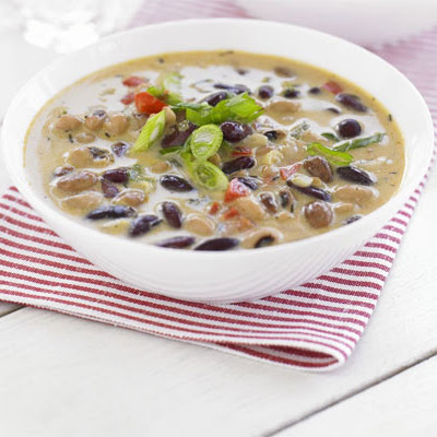 Simple Coconut & Bean Soup