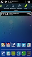 Screenshot of Jelly Bean Clock Widget Donate