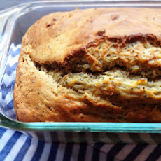 Banana Poppy Seed Yogurt Loaf