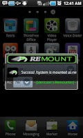 Screenshot of Remount