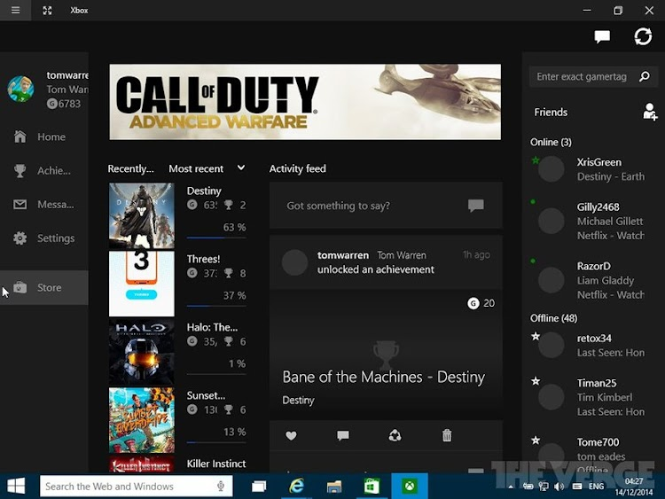 Phil Spencer reveals the new Xbox App for Windows 10