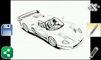 Screenshot of Sketch Art