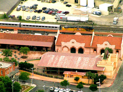San Antonio Amtrak Station. From The Zen of Traveling Retired: The Karma of Traveling With Family