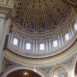 The Vatican, Rome Italy by Peter Spagnuolo - Buildings & Architecture Architectural Detail ( Architecture, Ceilings, Ceiling, Buildings, Building )