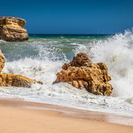 Sao Rafael by Wim Moons - Landscapes Beaches ( prt, são rafael, portugal, albufeira, faro )