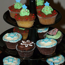 Moist Healthy Cupcakes (Perfect for Cupcake Menorah)