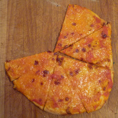 Home-made Pizza That's Crispy On The Bottom & Chewy In The Middle