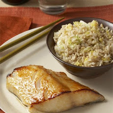 Sesame Brown Rice and Cabbage