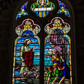 Cores da Paz by Tony Saad - Artistic Objects Glass ( brazil, church, window, colors, brasil )