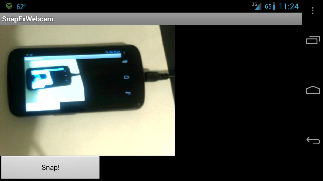 1 используйте свой android-телефон в качестве веб-камеры, используя wi-fi
