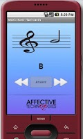 Screenshot of Music Note Flashcards