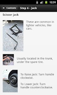 How to Change Your Tire - screenshot