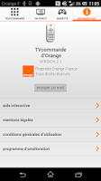 Screenshot of TVcommande d'Orange