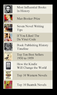 Book Lists - screenshot