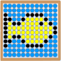 Dots board icon