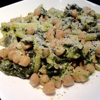 Garlic Infused Broccoli Rabe and Chickpeas