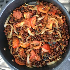 Kala Chana (Chickpea) Stir-Fry