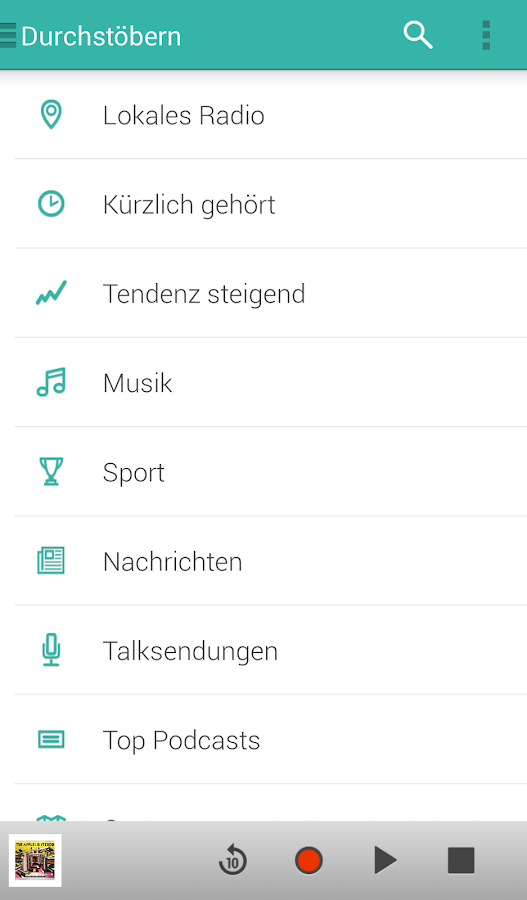 TuneIn Radio Pro – Screenshot