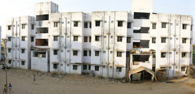 Boaris' resettlement colony in Ahmedabad © Caleb Johnston
