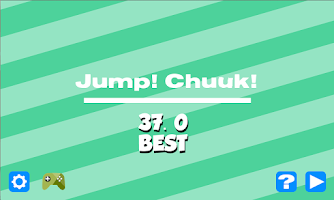 Screenshot of Jump! Chunk!