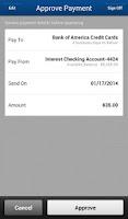 Screenshot of TIAA Direct Mobile Banking