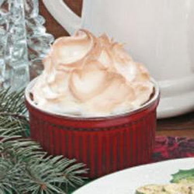 Meringue Pudding Cups