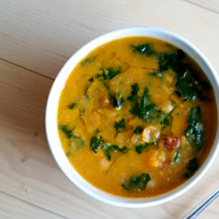Chorizo, Chickpea & Sweet Potato Soup