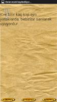 Screenshot of ÖZDEMİR ASAF SÖZLERİ