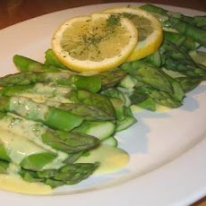 Asparagus in Tarragon Hollandaise Sauce Good and Fancy!
