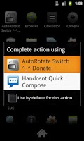 Screenshot of AutoRotate Switch - Donation
