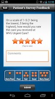 Screenshot of WVU Urgent Care