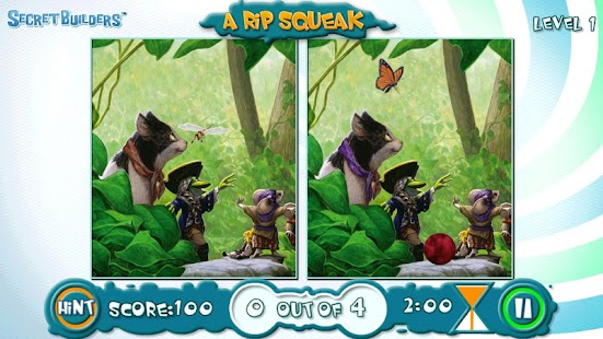 Rip Squeak: Hidden Difference - screenshot