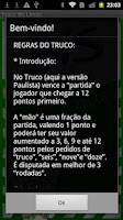 Screenshot of Truco Bis Limão