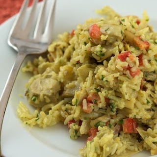 Curry Artichoke Rice Salad