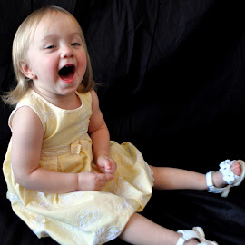 Laughing  by Tammy Price - Babies & Children Toddlers ( child, girl, happy, toddler )