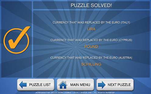 Wordgenuity Trivia Word Jumbl- screenshot thumbnail