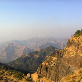 nature's slice of cake....mahabaleshwar by Sudeshna Jain - Landscapes Mountains & Hills