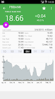 Screenshot of iBursa (for Bursa / KLSE)