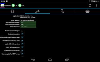 Screenshot of SSHelper