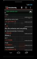 Screenshot of CalculatorNg - Calculator