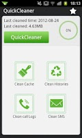 Screenshot of QuickCleaner