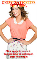 Screenshot of HD Martina Stoessel Puzzle