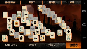 Screenshot of Mahjong Halloween