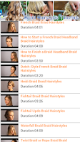 Screenshot of Braid Hairstyles Tutorials