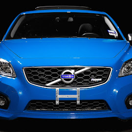 Volvo C30 by Brent Gudenschwager - Transportation Automobiles ( car, c30, r-design, blue, automobile, polestar, volvo )