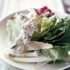 Bibb Wedges, Radicchio, Endive, and Blue Cheese Dressing Recipe