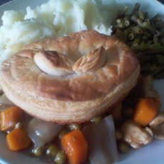 Cheats Chicken And Veg Pies