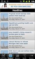 Screenshot of Washington D.C. Local News